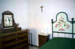 Interno - camera matrimoniale verde